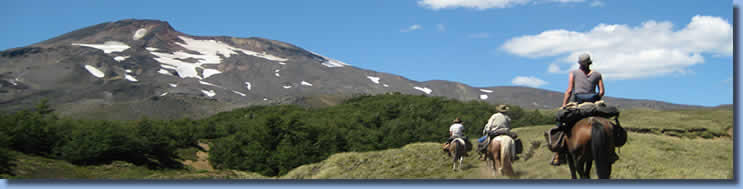 Great landscape, on the Crossing the Andes on Horseback in Northern patagonia Trail